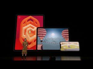 Image 1 : Apple présente Arcade : un service de jeu illimité, mais sans streaming