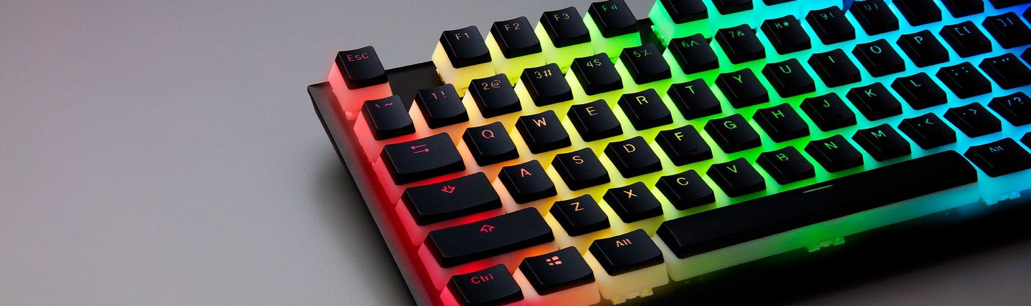 Image 2 : HyperX : des touches spéciales pour encore plus de RGB sur son clavier !