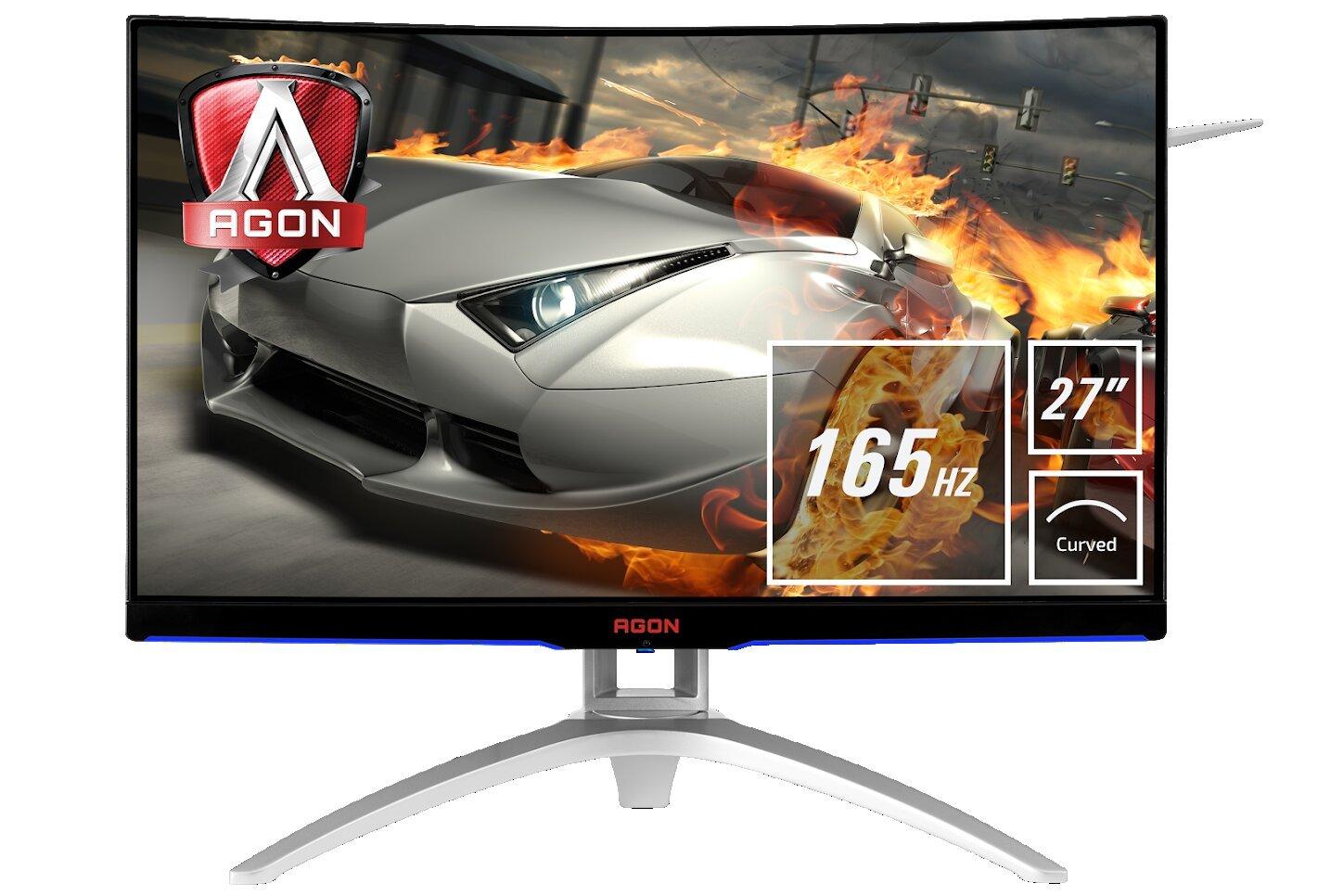 Image 1 : AOC : nouvel écran gaming AGON, en 27 pouces Full HD 165 Hz