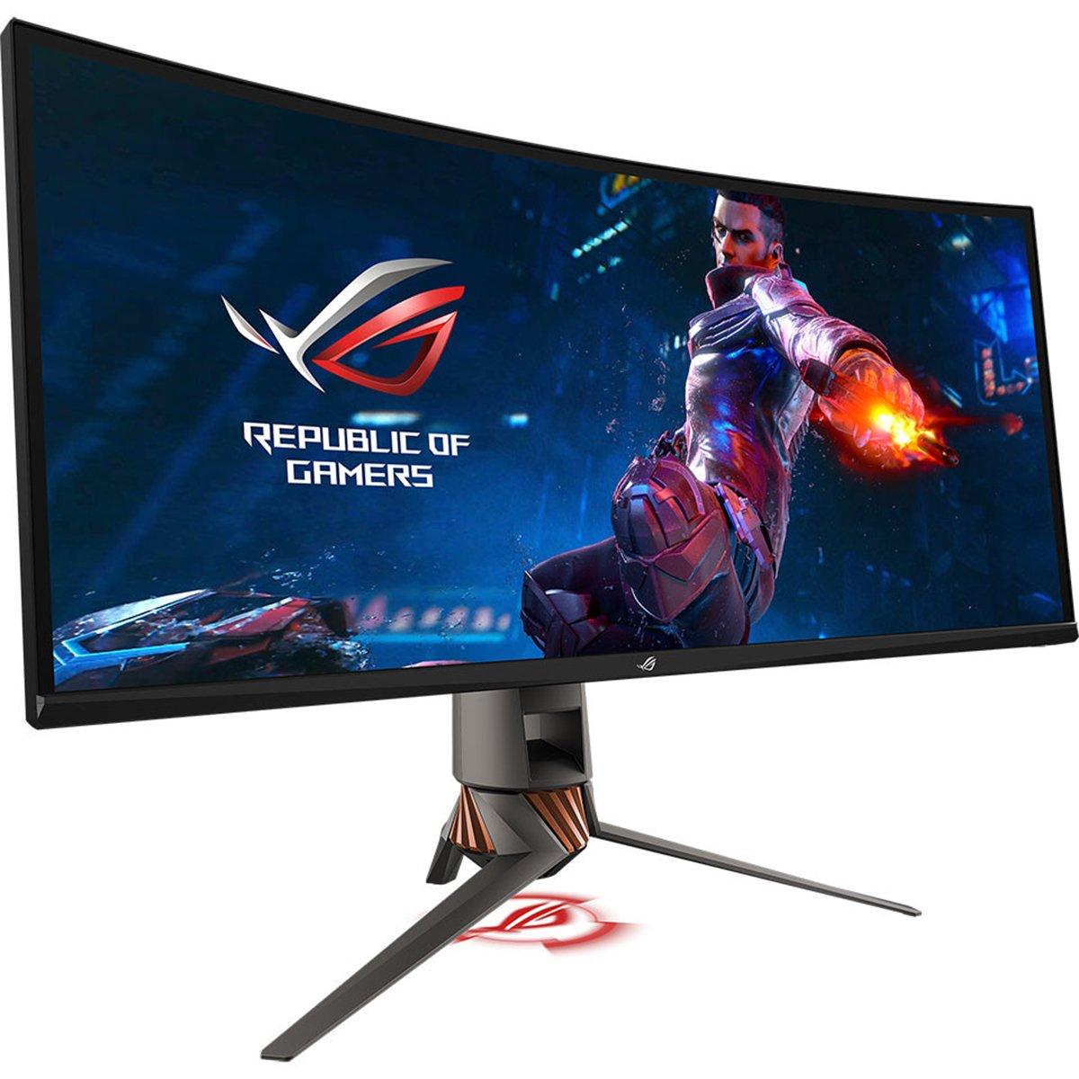 Image 1 : Asus : nouvel écran gaming 34 pouces ultra-large à 120 Hz