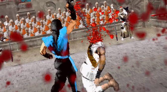 Image 1 : Vidéo : le premier Mortal Kombat converti en démo 3D rétro !