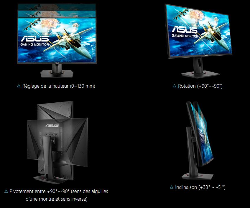 Image 3 : Asus : premiers écrans FHD 165 Hz dits Adaptive Sync, et G-Sync Compatible