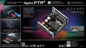 Image 5 : FSP lance une version 850 W de son alimentation watercoolée Hydro PTM+