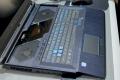 Portable Predator Helios 700 : touches semi-mécaniques et clavier coulissant !