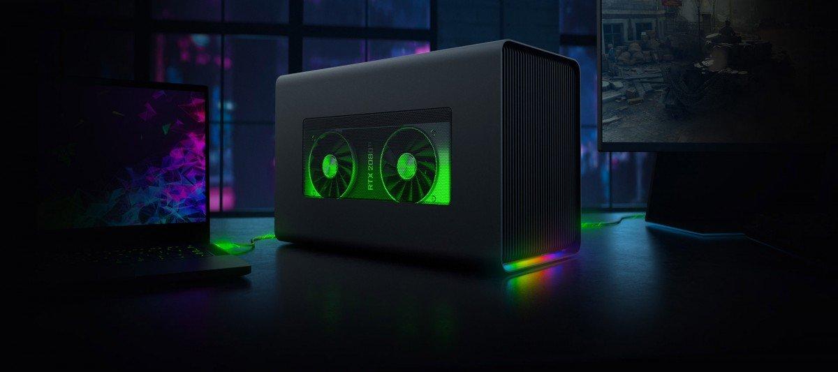 Image 1 : Core X Chroma, Razer ajoute du RGB à son boîtier GPU externe