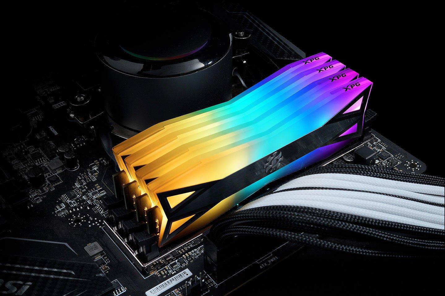 Image 3 : Adata XPG Spectrix D60G : de la DDR4 qui mise sur le RGB