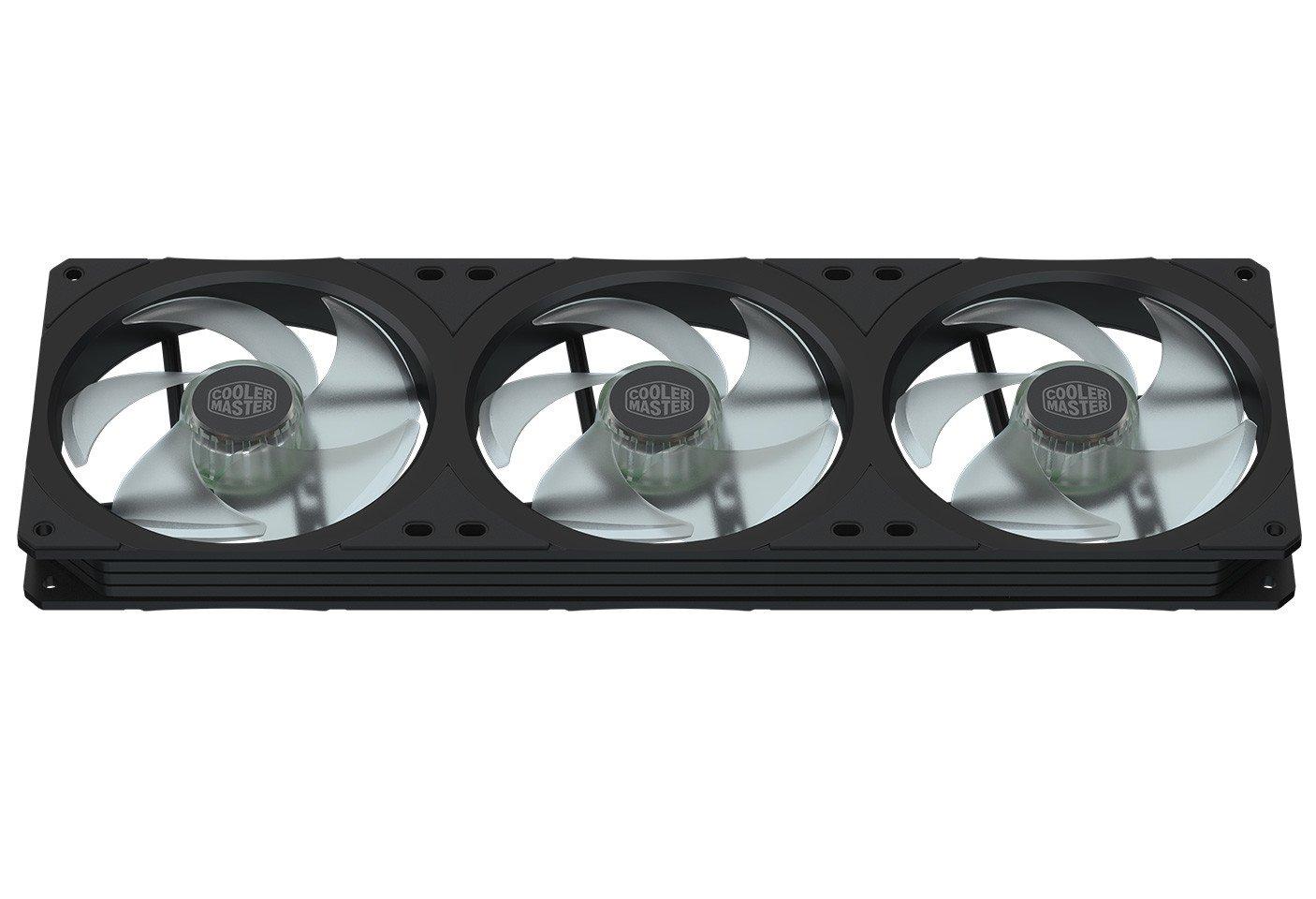 Image 2 : Cooler Master propose un cadre avec trois ventilateurs !