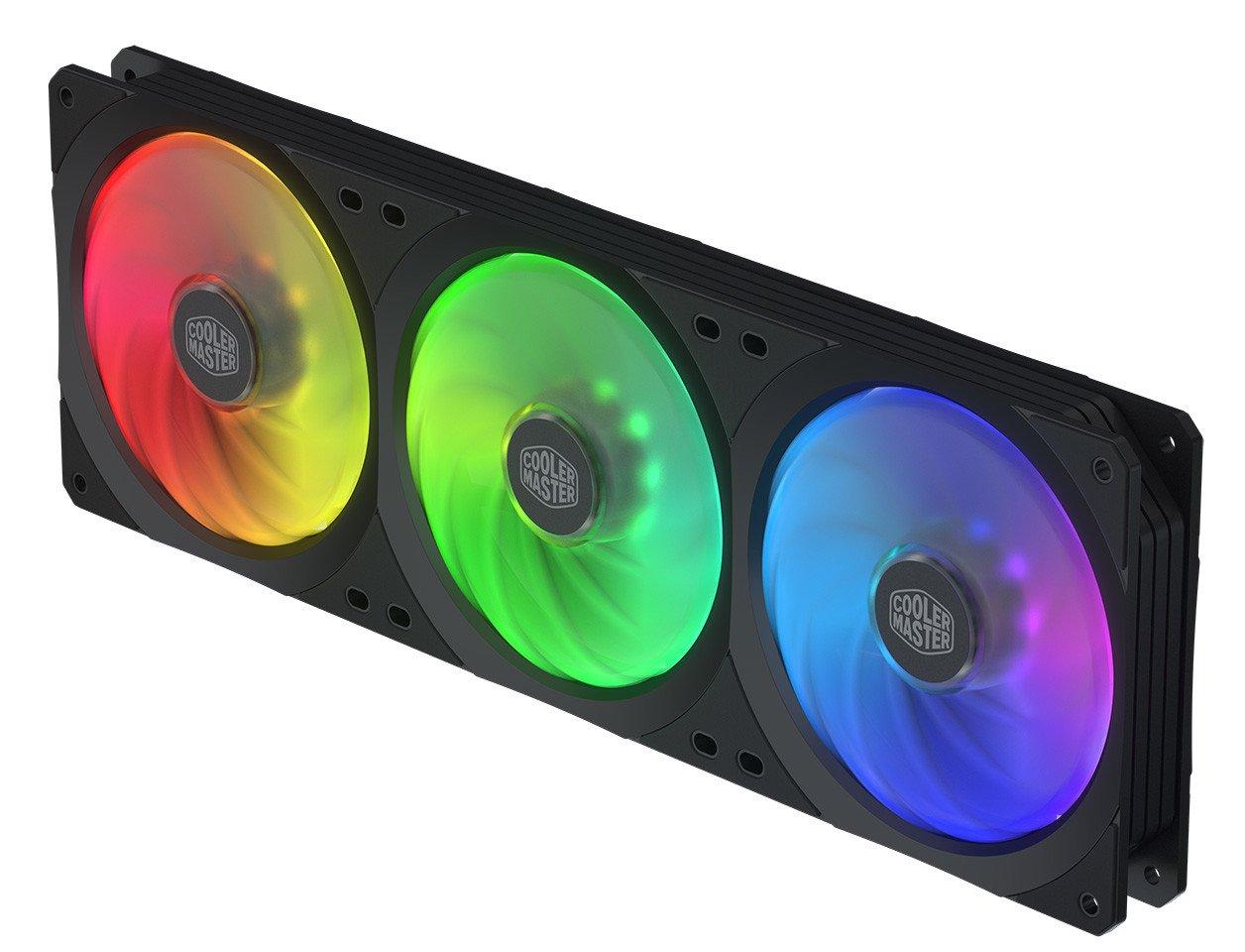 Image 1 : Cooler Master propose un cadre avec trois ventilateurs !