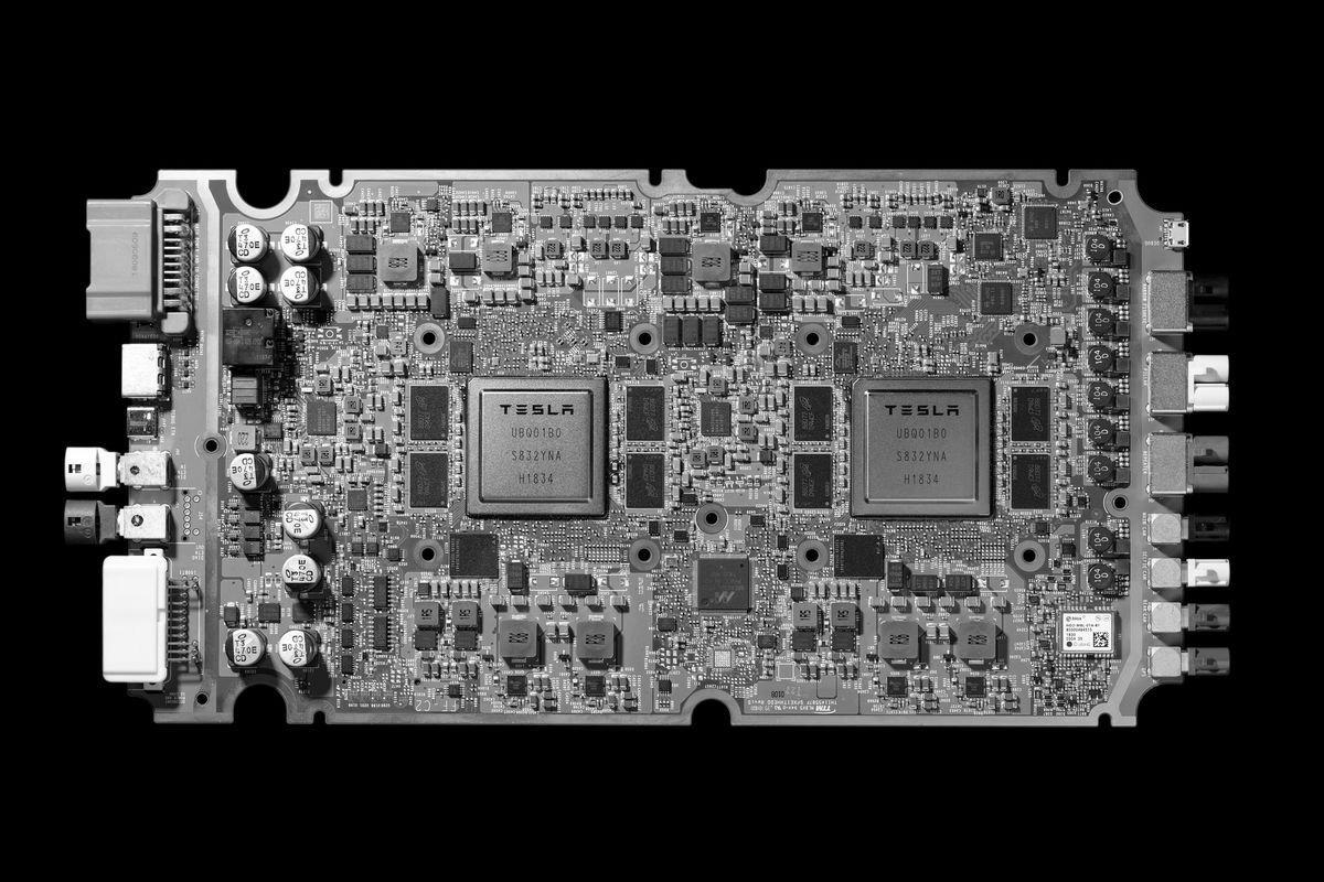 Image 6 : Conduite autonome : Tesla abandonne NVIDIA et présente sa propre puce IA