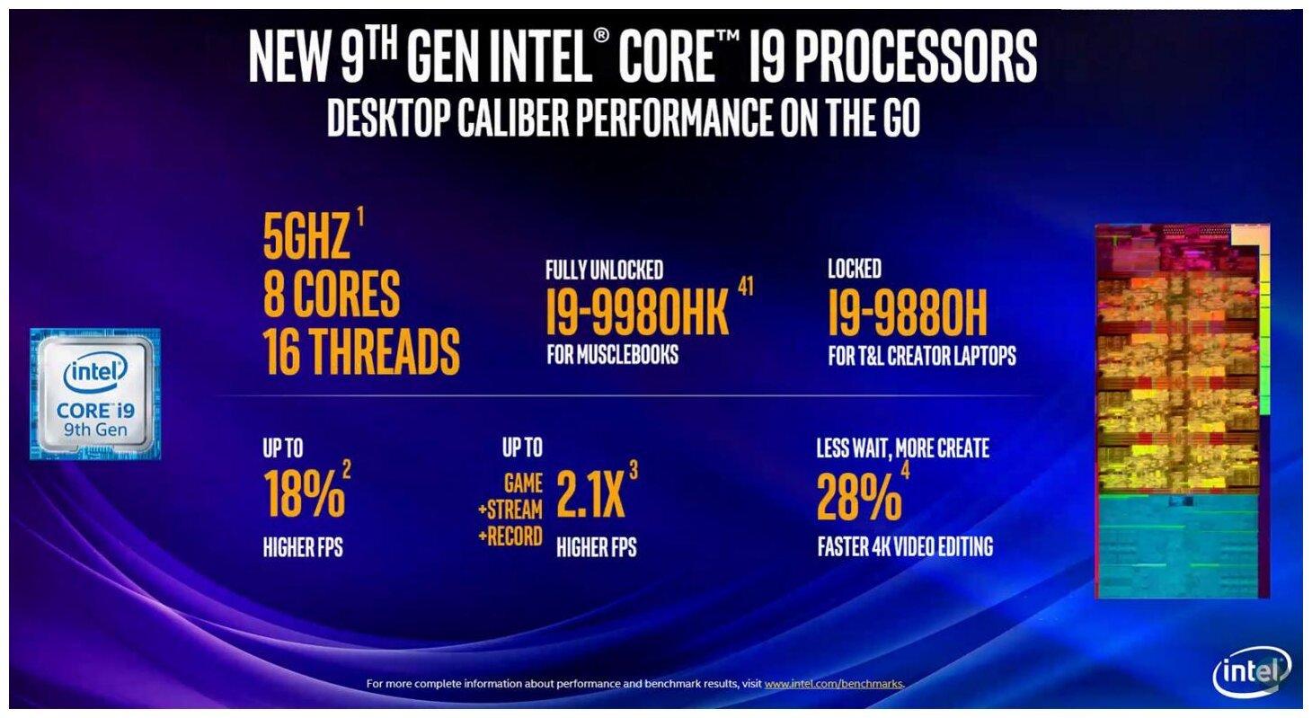 Image 6 : Intel étend sa gamme de processeurs desktop et mobiles