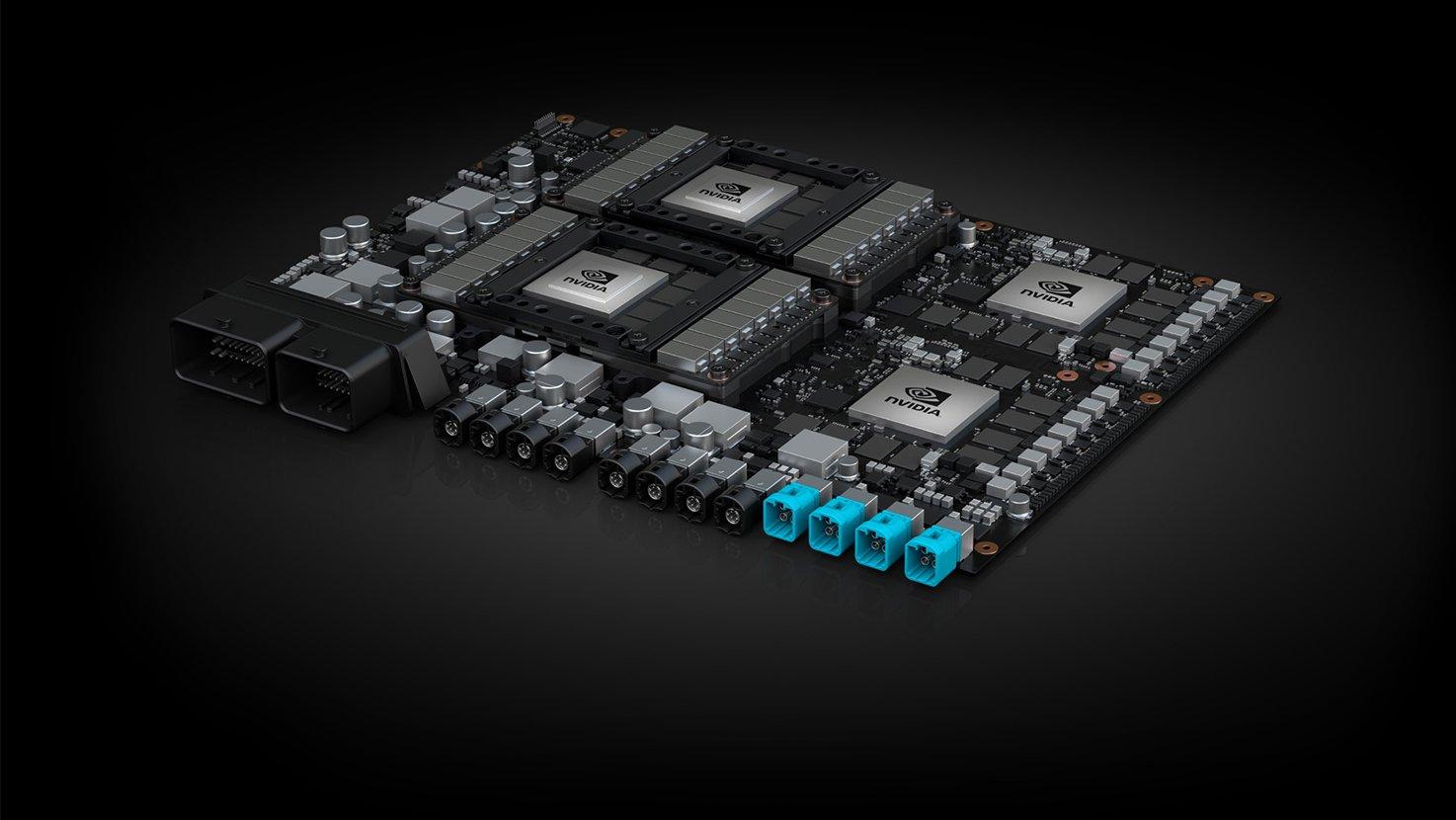 Image 1 : Conduite autonome : NVIDIA répond à Tesla en pointant une comparaison inexacte