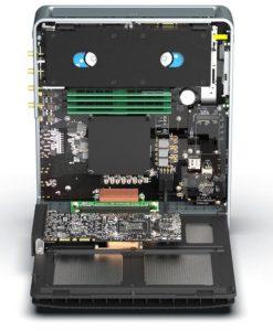 Image 4 : CompuLab : un petit PC armé d'un Core i9-9900K et d'une Quadro RTX, tout en passif !