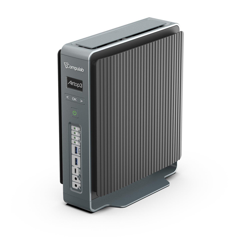 Image 1 : CompuLab : un petit PC armé d'un Core i9-9900K et d'une Quadro RTX, tout en passif !