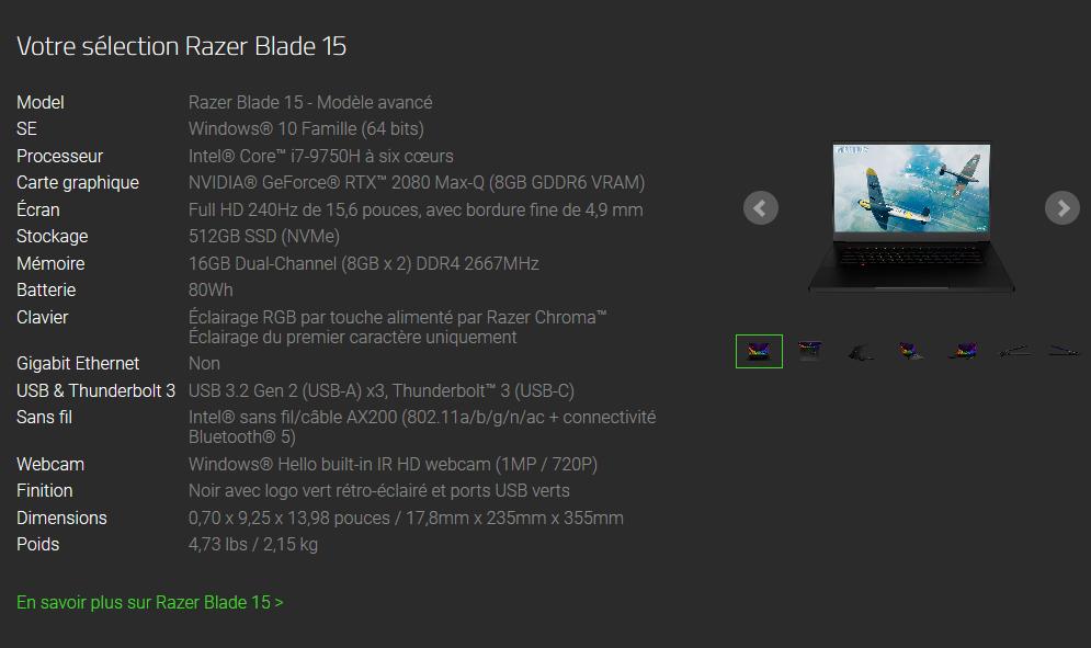 Image 2 : Des écrans 240 Hz pour les PC portables gaming de Gigabyte et Razer