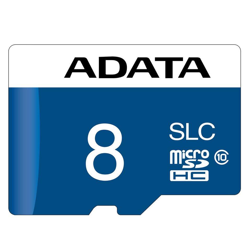 Image 1 : Adata : des cartes microSD sur mémoire flash NAND SLC à grande durabilité
