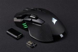 Image 1 : Corsair lance deux nouvelles souris gaming, filaire et sans fil, ça monte à 18 000 DPI