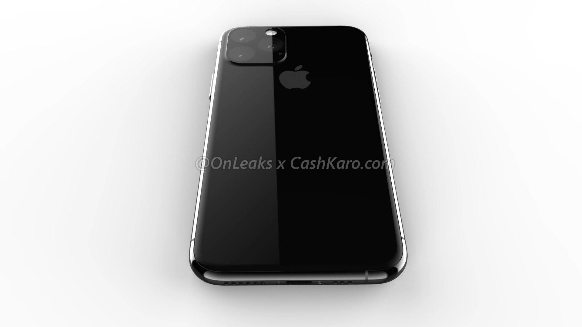 Image 1 : Le présumé iPhone XI dévoilé sous tous les angles, énorme bloc optique !