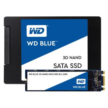 Image 1 : Le SSD WD Blue disponible en version 4 To pour 550 euros