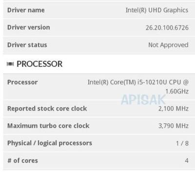 Image 1 : Intel : premières caractéristiques présumées des futurs CPU Core ix-10xxx