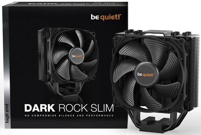 Image 1 : Be quiet! : un ventirad Dark Rock Slim annoncé à moins de 60 euros