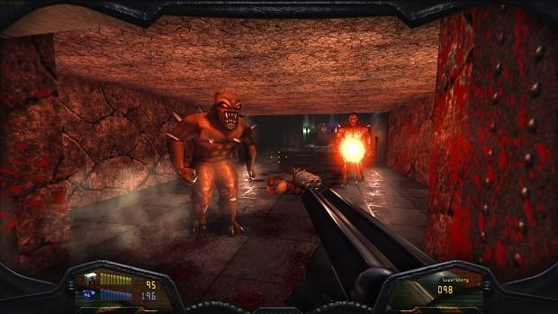 Image 1 : Vidéo : la dernière mouture du Doom Remake 4 envoie du lourd