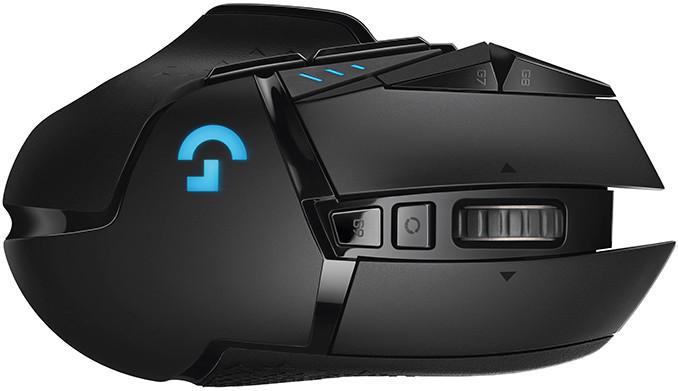 Image 1 : Logitech  lance sa souris G502 en version sans fil, avec charge à induction