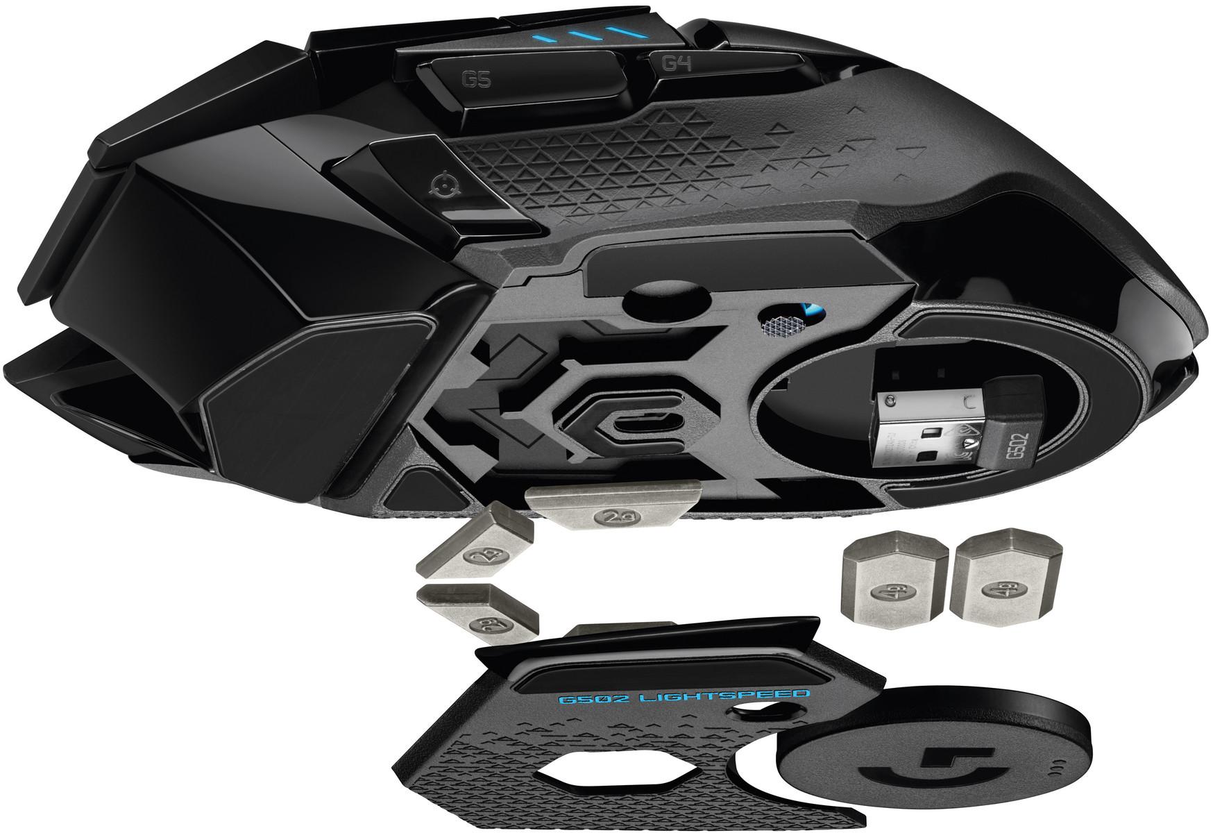 Image 4 : Logitech  lance sa souris G502 en version sans fil, avec charge à induction