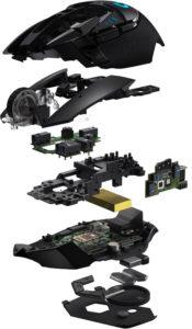 Image 3 : Logitech  lance sa souris G502 en version sans fil, avec charge à induction