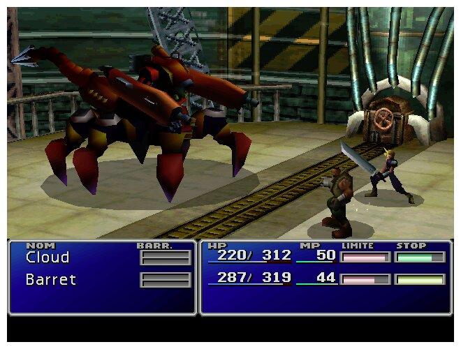 Image 7 : Final Fantasy VII Remake : les graphismes comparés plus de vingt ans après