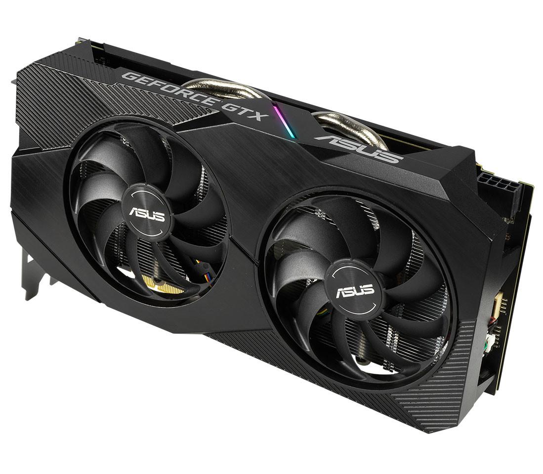 Image 1 : Asus lance ses GeForce GTX 1660 Ti EVO avec un dissipateur plus soigné