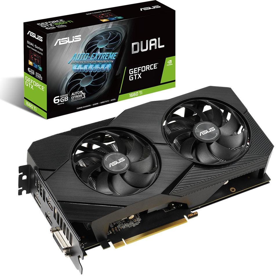 Image 5 : Asus lance ses GeForce GTX 1660 Ti EVO avec un dissipateur plus soigné