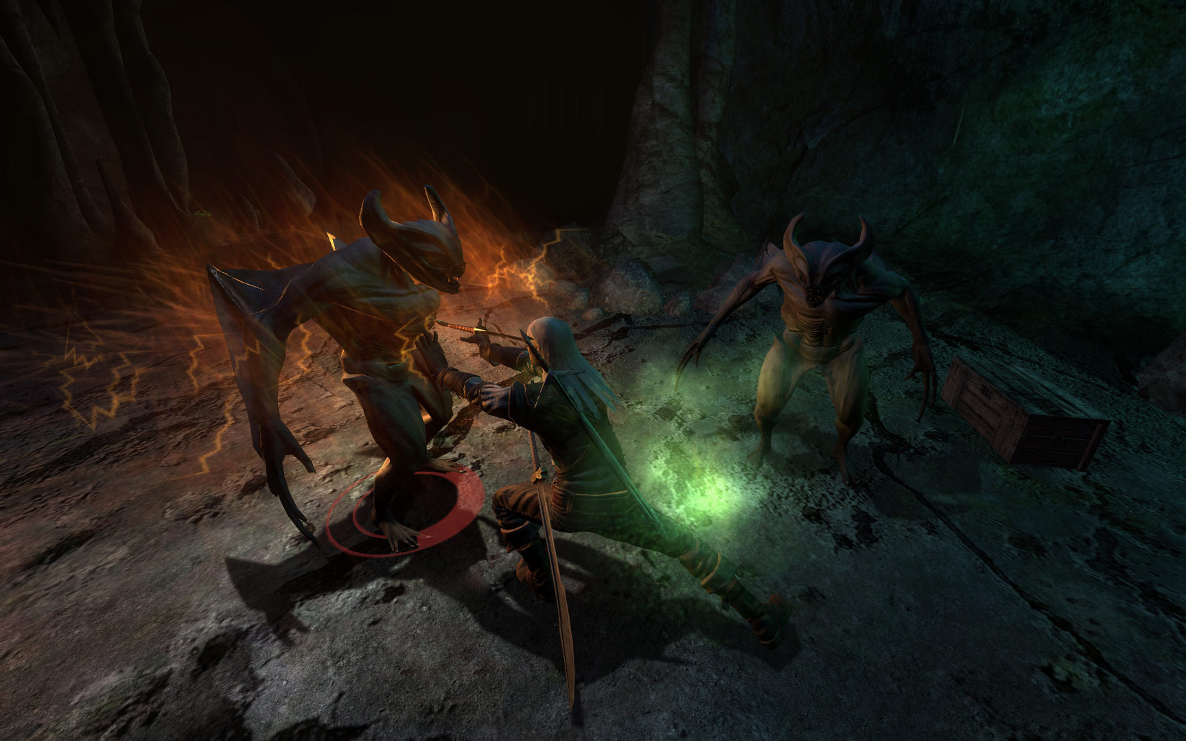 Image 1 : Jeu gratuit : The Witcher Enhanced Edition est offert chez GOG, sans DRM !