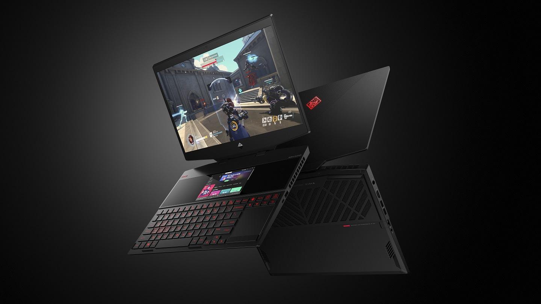 Image 1 : Portable HP OMEN X 2S : deux écrans et pâte thermique métal liquide !