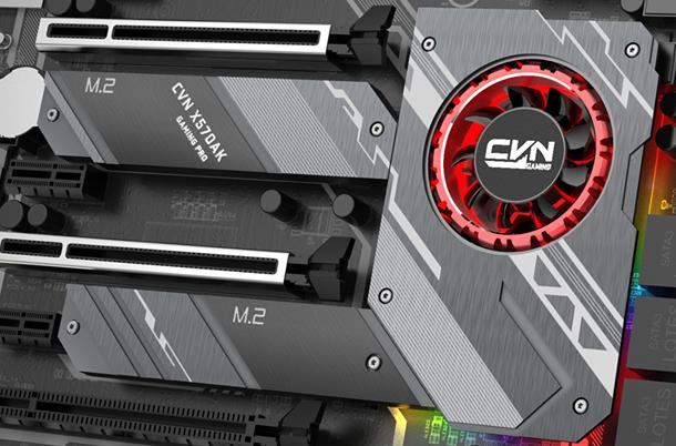 Image 1 : Ryzen 3000 : ventilateur obligatoire pour le chipset X570 ?