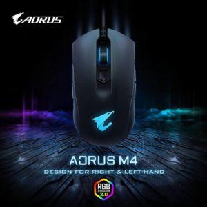 Image 2 : Gigabyte annone une nouvelle souris ambidextre, l'Aorus M4