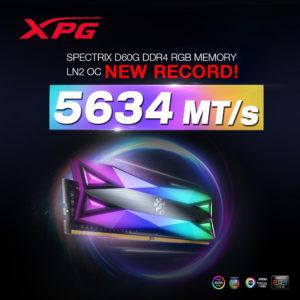 Image 2 : Nouveau record : DRAM overclockée en DDR4-5634 chez ADATA