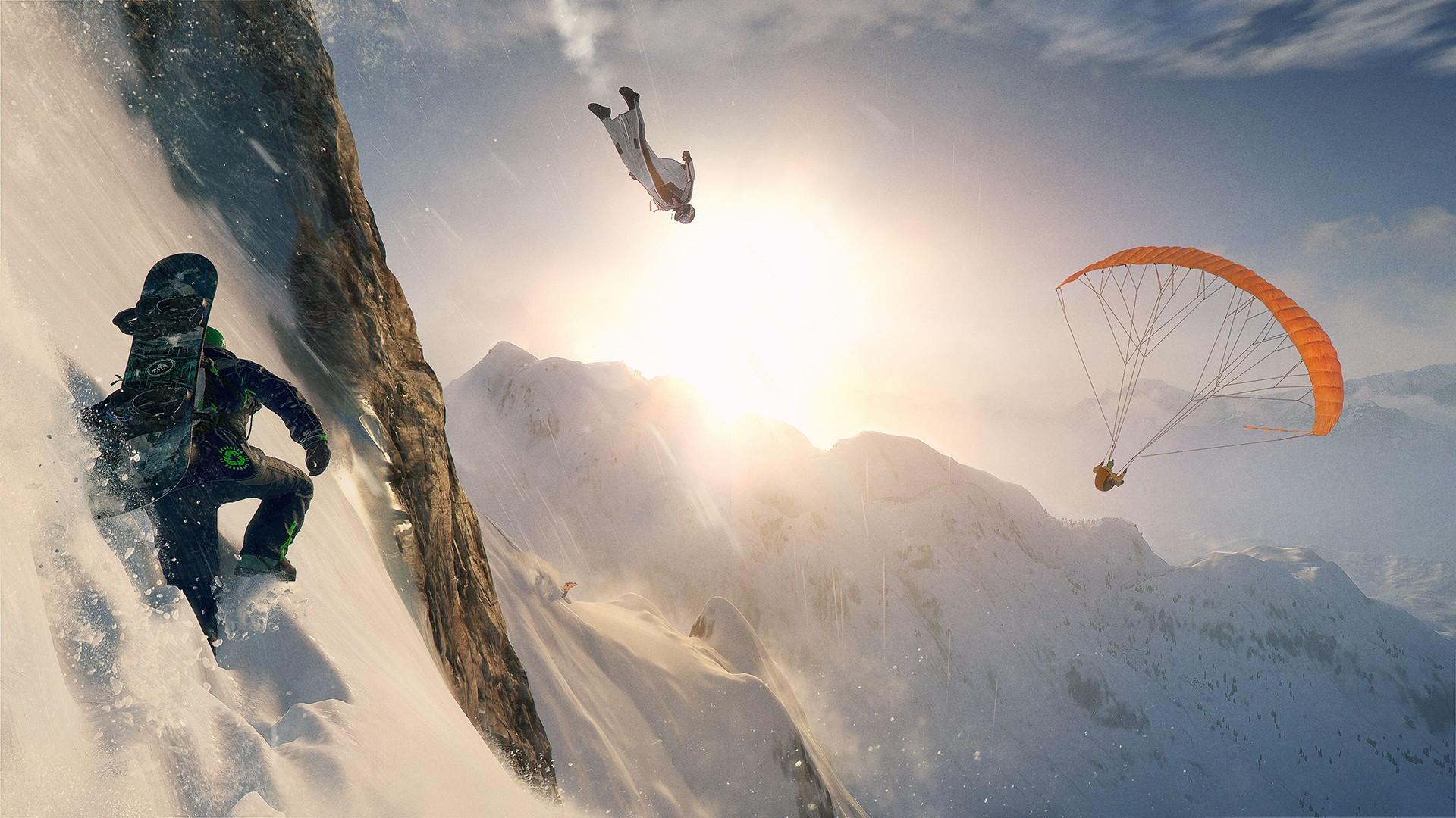 Image 1 : Jeu gratuit : Ubisoft offre Steep jusqu'à mardi !
