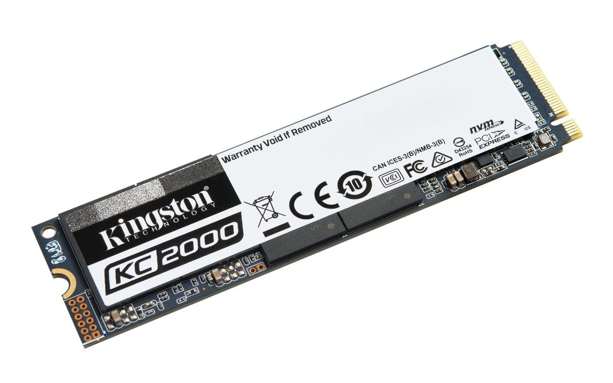 Image 1 : Kingston KC2000 : des SSD M.2 flashés à 3200 Mo/s
