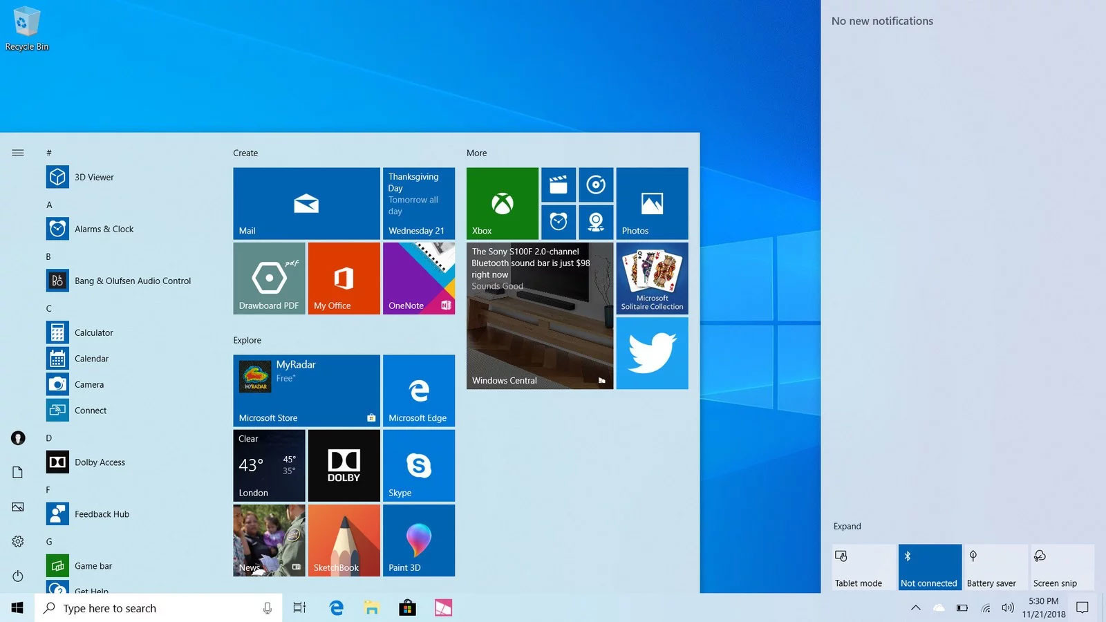 Image 1 : La Windows 10 May 2019 Update débarque ! Comment télécharger la mise à jour