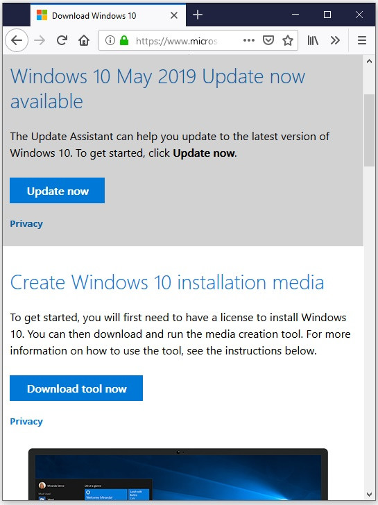 Image 2 : La Windows 10 May 2019 Update débarque ! Comment télécharger la mise à jour