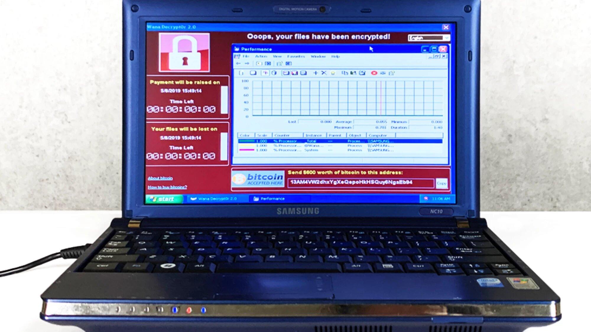 Image 1 : Infecté par 6 virus légendaires, un PC dépasse le million de dollars aux enchères