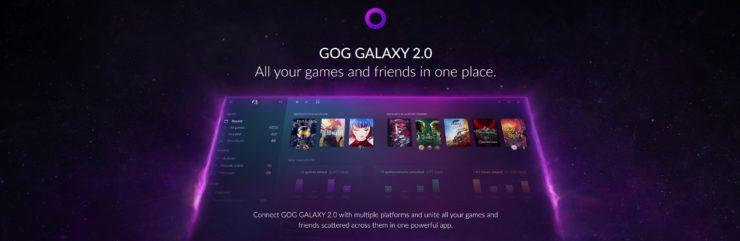 Image 1 : GOG Galaxy 2.0 : le store qui veut réunir tous les autres, Steam, Origin, Uplay, Epic...