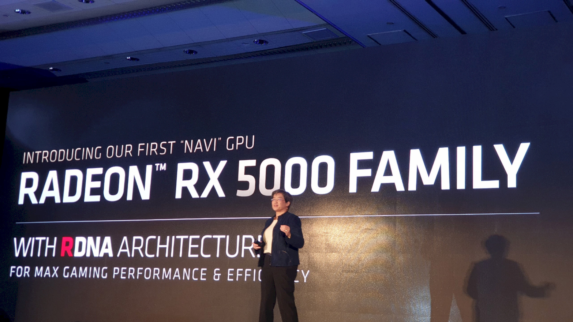 Image 1 : Computex : les Radeon RX 5700, sur GPU AMD Navi, attaquent la RTX 2070