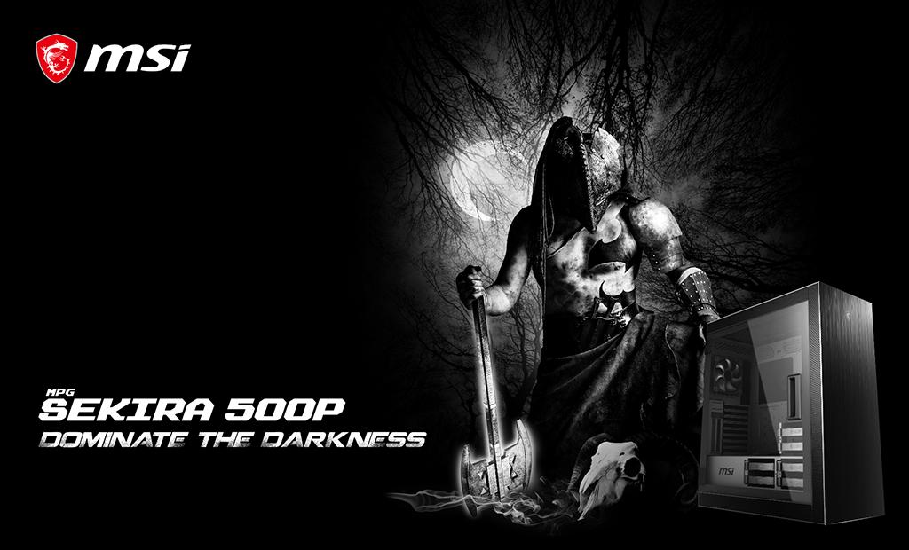 Image 4 : MSI : des boîtiers inspirés par Perun, le Dieu du tonnerre !