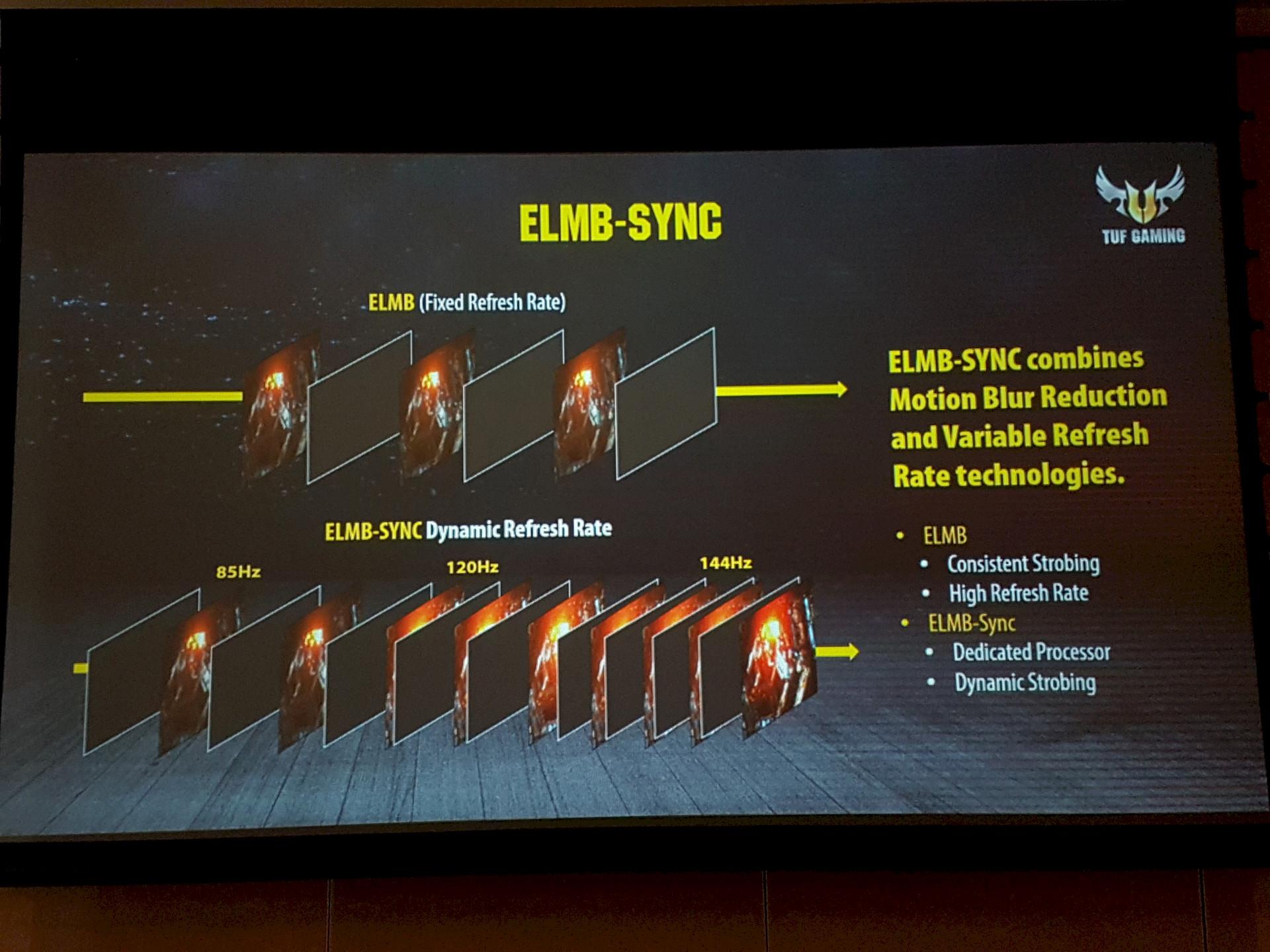 Image 3 : Computex : ELMB Sync, Asus touche au Graal de la netteté sur trois écrans gaming