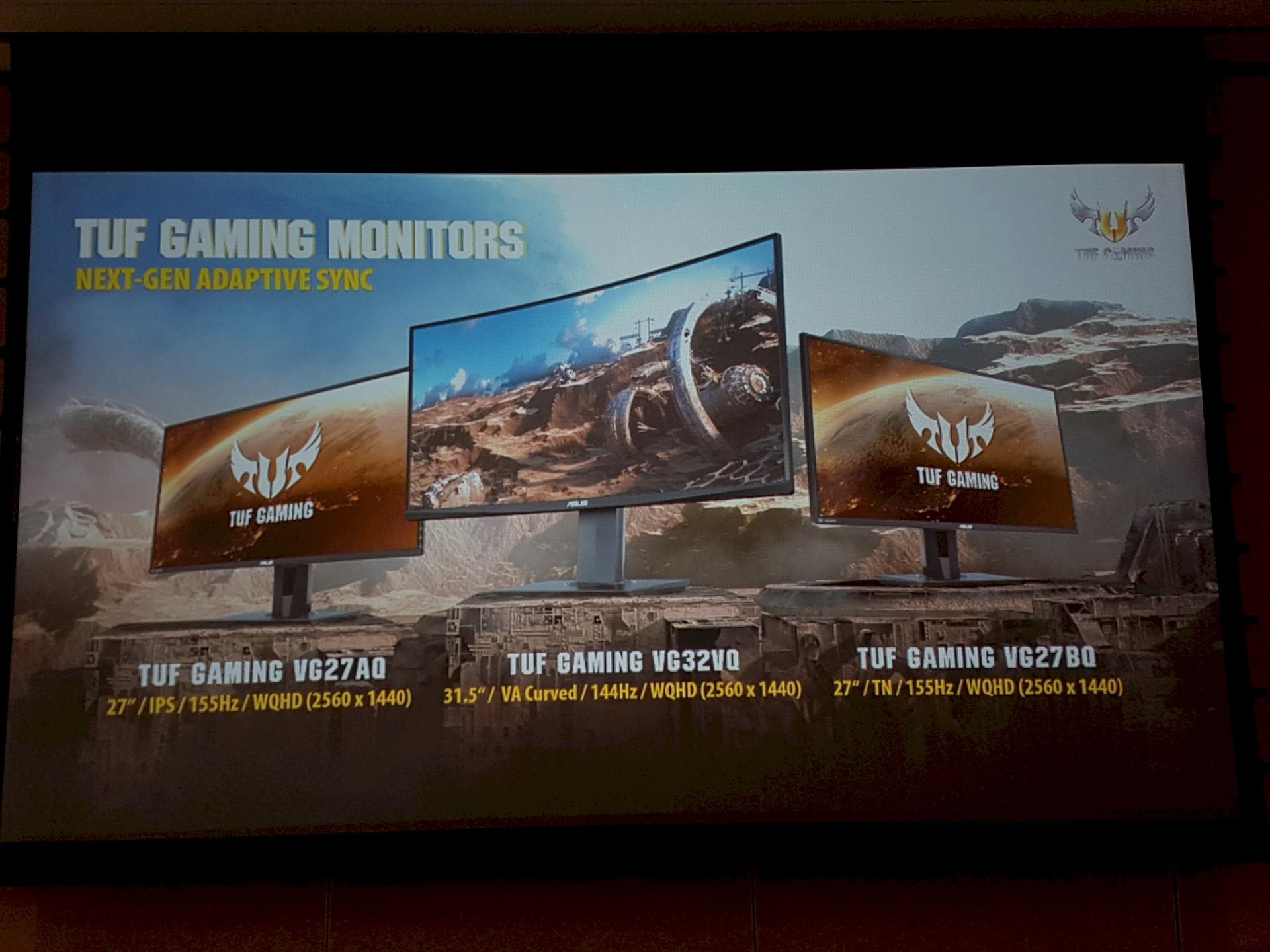 Image 4 : Computex : ELMB Sync, Asus touche au Graal de la netteté sur trois écrans gaming