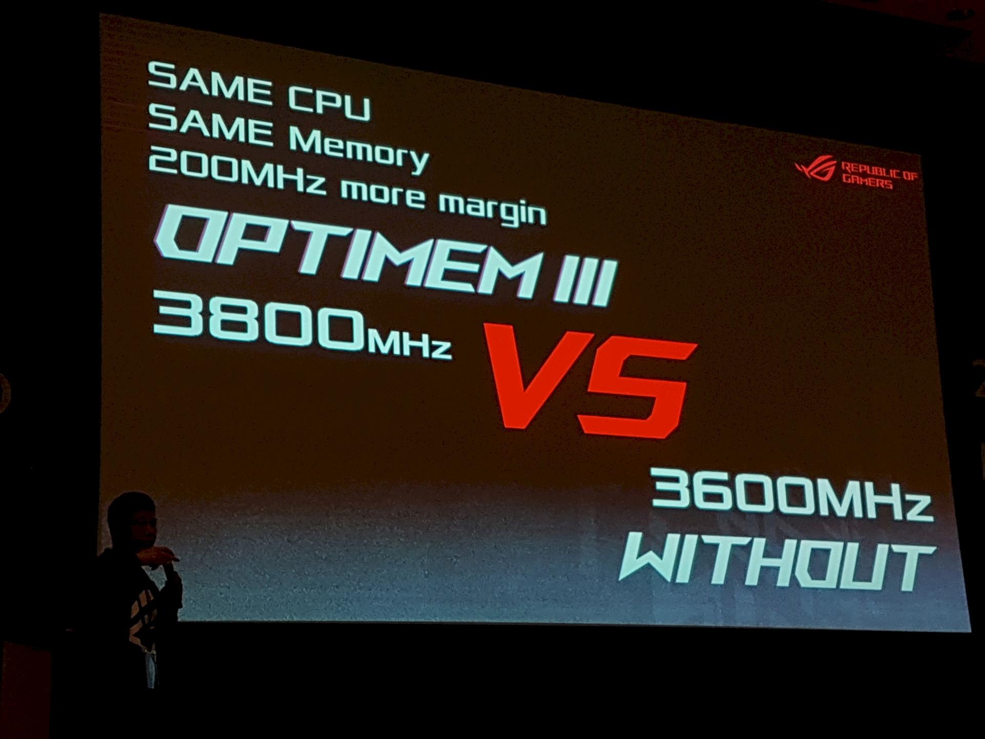 Image 1 : Computex : DRAM en DDR4-3800 sur Ryzen 2700X chez Asus, et bientôt 5000 ?