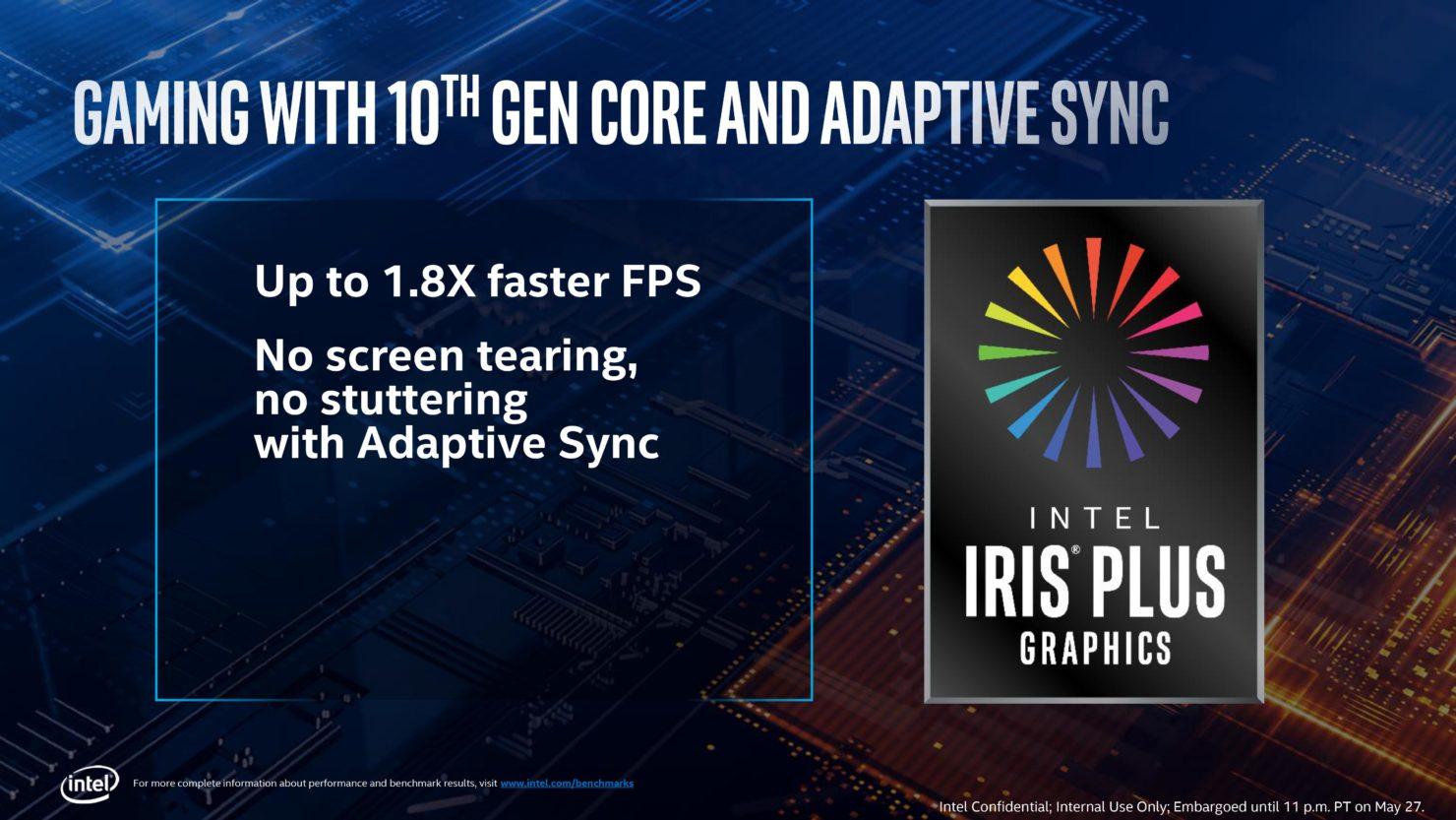 Image 1 : Computex : tous les détails sur la Gen11 d'Intel