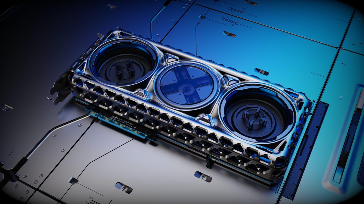 Image 1 : Computex : Intel exhibe les concepts de cartes graphiques préférés de ses fans