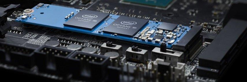 Image 1 : Computex : Intel M15, la mémoire Optane passe au PCIe 3.0 4x